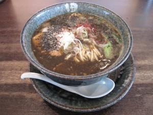 【三島市】 田ぶし ブラック担々麺