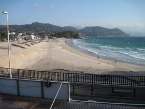 【下田市】 白浜マリーナの窓辺の風景