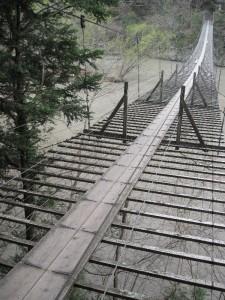 【川根本町】 寸又峡 夢の吊り橋2