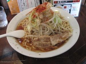 【いすみ市】 らぁ麺三軒屋 二郎風野菜そば(醤油)