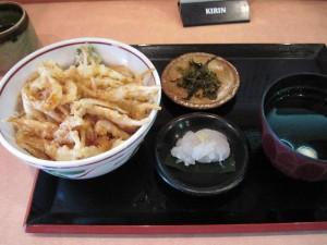 【富山市】 白えび亭 白えび天丼お刺身付き