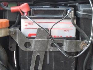 バッテリー液の減りが一番やばい
