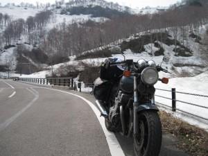 国道252号 新潟・福島県境