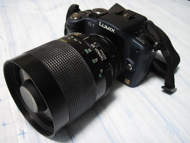 TAMRON 500mm F8 (FDマウント)