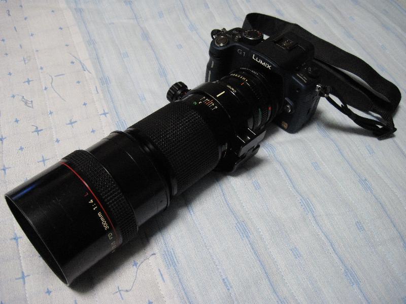 CANON NFD 300mm F4L