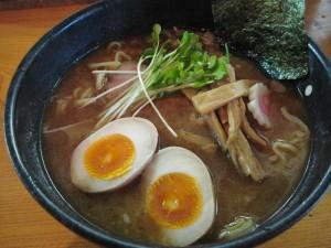 【大洗町】 麺屋 渡来人 味玉ラーメン