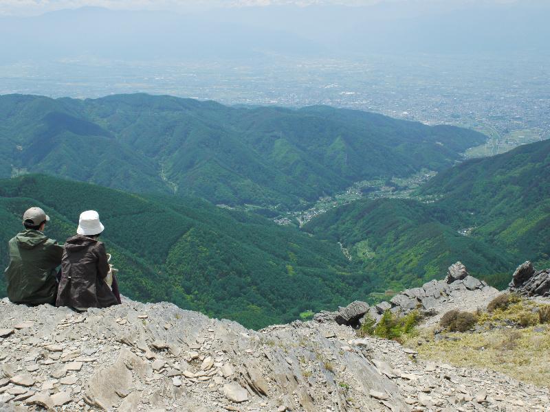 【長野県松本市】 王ヶ鼻からの眺め (G1 NFD24mm)