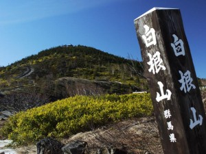 朝の白根山 (G1 NFD24mm)