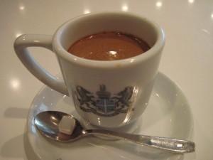 【京都市中京区】 イノダコーヒ本店 京の朝食の「アラビアの真珠」(ホットコーヒー)