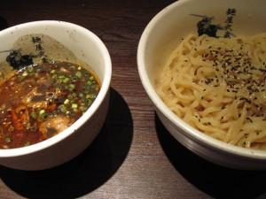 【千代田区】 麺屋武蔵 神山 冷やし胡麻つけ麺(中盛り)