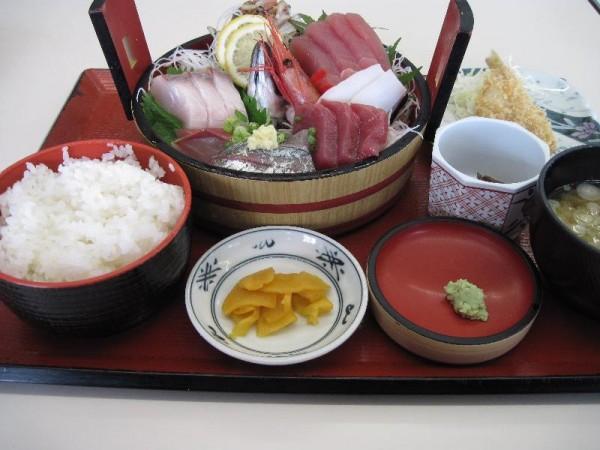 【いわき市小名浜】 市場食堂 「刺身定食」