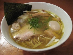 【福島市】 自家製麺 えなみ 「特製塩らぁめん」