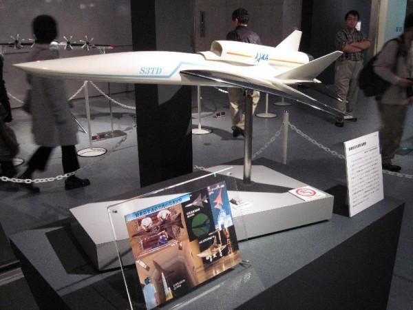 「JAXA 静寂超音速研究機」