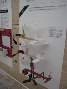 「反転ローター式のヘリ模型」