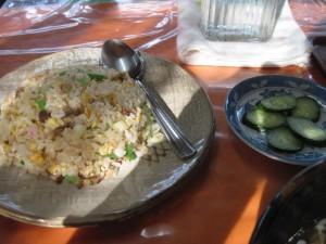【益子町】 支那そば処 麥蕎麦や 「チャーハン・お新香」
