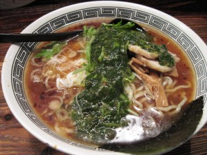 【横浜市神奈川区】 麺場 浜虎 「活力醤そば(大盛り)」
