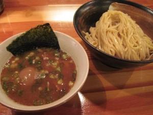 【台東区】 瞠 「味玉つけ麺」