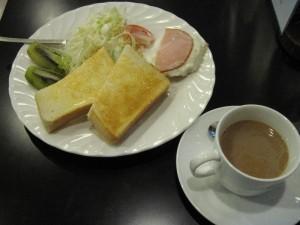 【台東区浅草】 パンサー 「モーニングセット」