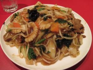 【日立市】 中華食堂 天海 「五目あんかけ焼きそば」
