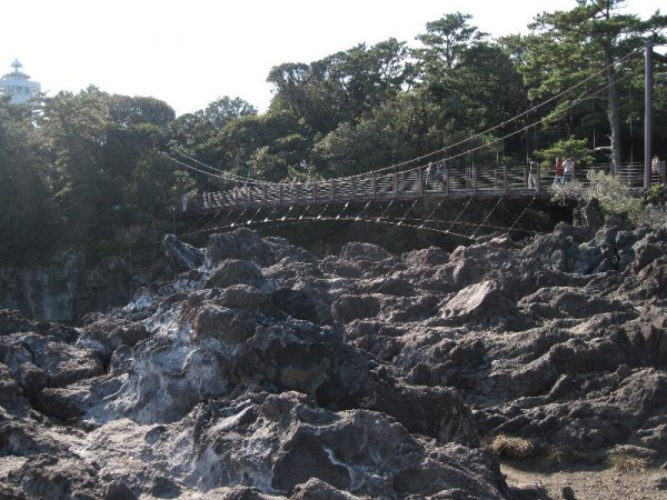 「城ヶ崎 門脇吊橋」