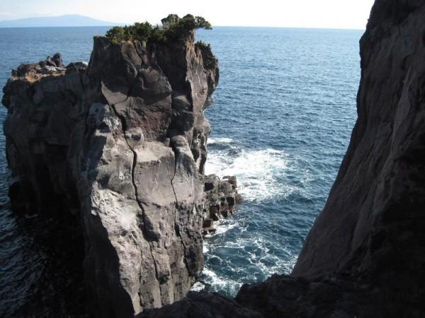 「城ヶ崎 奇岩」
