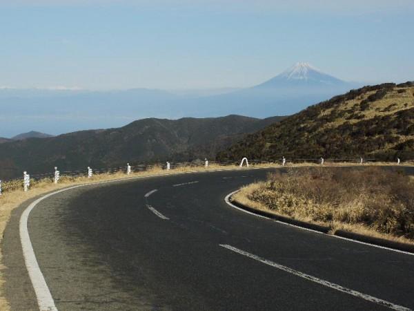 「西伊豆スカイラインと富士山」 (G1 NFD24mm)