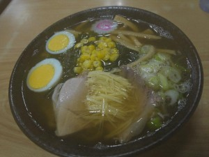【喜多方市】 桜井食堂 「蔵ラーメン(しょうゆ味)」
