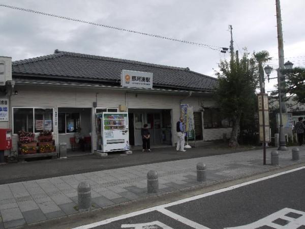 「那珂湊駅」 (G1 M.ZUIKO DIGITAL 14-42mm F3.5-5.6)