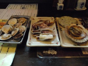 【茨城県大洗町】 海鮮どんぶり亭 「海鮮浜焼きセットの定食」