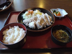【長野県上高地】 河童食堂 「山賊定食」