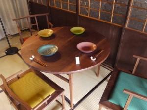 「高山木工房巡り 色漆の器とテーブル」 (G1 M.ZUIKO DIGITAL 14-42mm F3.5-5.6)