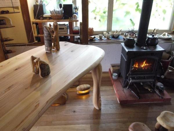 「高山木工房巡り 木のテーブルと薪ストーブと焼き物」 (G1 M.ZUIKO DIGITAL 14-42mm F3.5-5.6)