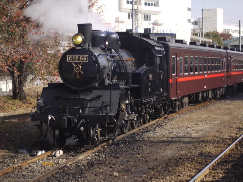 「真岡鐵道の蒸気機関車C12 66」 (G1 nFD 50mm F1.4)