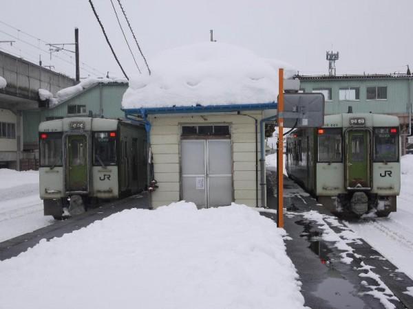 「飯山線 十日町駅にて」