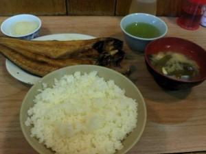 【東京都千代田区】 かんだ食堂 「ほっけ焼き定食」