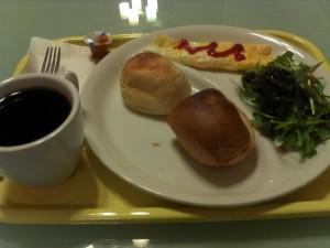 ホステルポルトヨコハマ 「無料朝食」