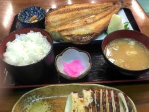 【茨城県ひたちなか市】 那珂湊 魚一 「ほっけ焼き定食」