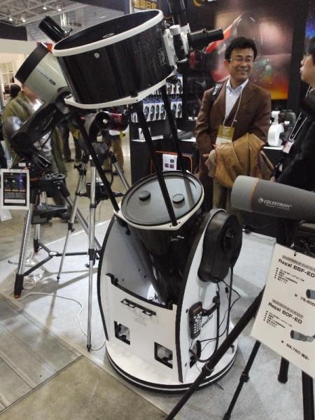 「CP+2012 CELESTRON 反射望遠鏡」