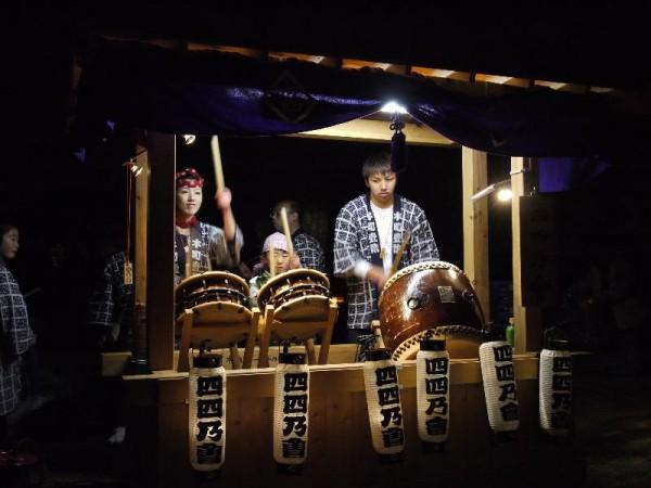 水戸偕楽園「夜・梅・祭 お囃子」 (G1 M.ZUIKO DIGITAL 14-42mm F3.5-5.6)