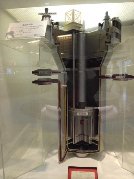 「高速増殖炉 常陽カットモデル」 (G1 M.ZUIKO DIGITAL 14-42mm F3.5-5.6)