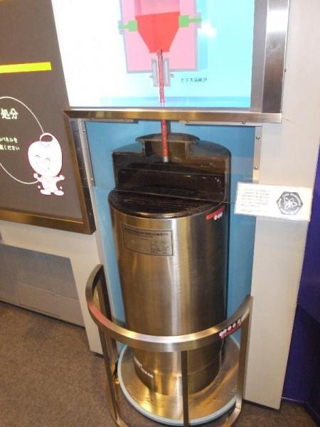 「高レベル放射性廃棄物容器」 (G1 M.ZUIKO DIGITAL 14-42mm F3.5-5.6)