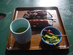【福島県白河市】 水月 「団子セット」