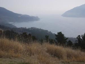 「御番所山から眺める朝の風景」