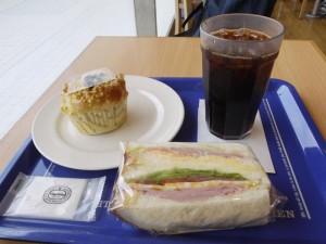 【茨城県水戸市】 神戸屋キッチン 「サンドイッチとブルーベリーヨーグルトパン」
