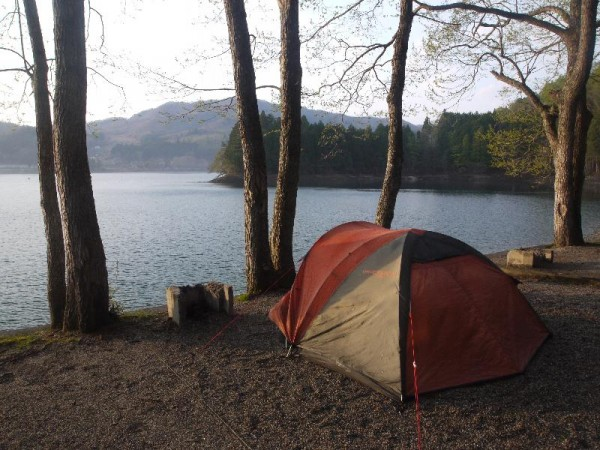 「青木湖キャンプ場」