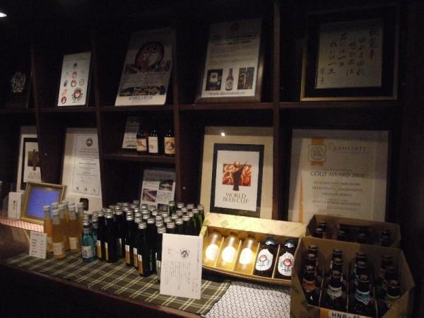 「木内酒造のビール群」