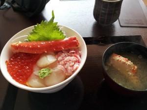 【福島県いわき市】 いわき・ら・ら・ミュウ 寿司正 「三色丼」