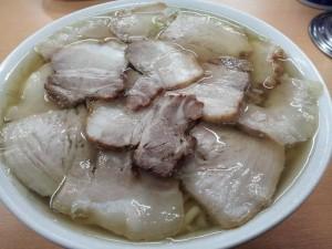 【喜多方市】 坂内食堂 「大盛肉そば」