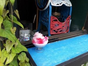 【福島県飯坂温泉】 沢田屋海苔店 「かき氷」