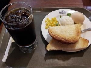 【新宿駅東口】 ベルク 「モーニングセット」